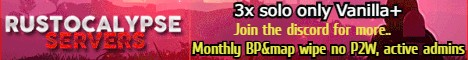 Rustocalypse 3x- Monthly - Solo only!!