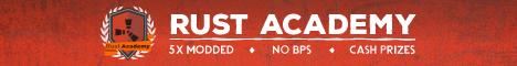 [EU] RustAcademy 5x No BPS - CASH PRIZES