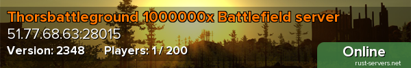 Thorsbattleground 1000000x Battlefield server
