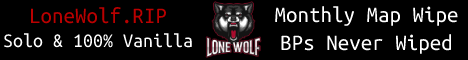 Lone Wolf - Solo Only, Monthly, No BP Wipes
