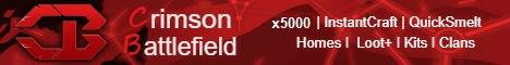 Crimson BattleField |x5000|Clans|TP|Home|Instant|Loot+